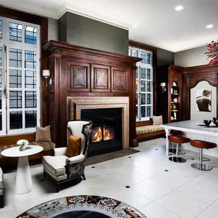 Preserved Historical Elements and Cabinetry | Modera Sedici | Apartments in DC