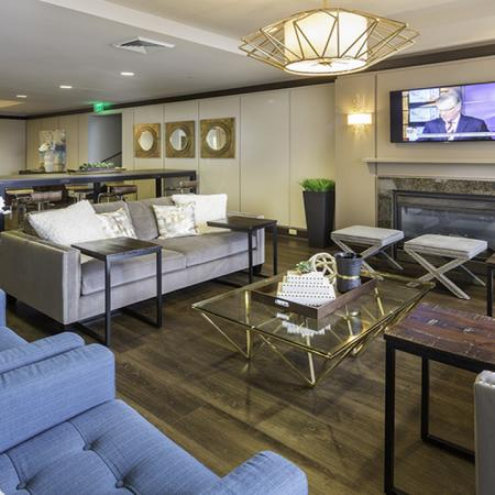 Resident lounge | Alister Arlington Ridge | Arlington, Virginia | Apartment Homes | Cozy Living Spaces