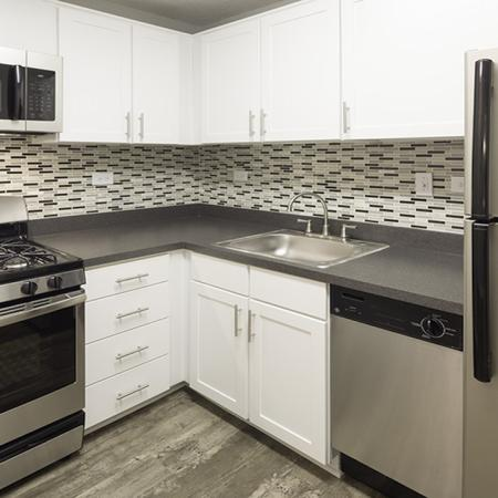Kitchen | Alister Arlington Ridge | Arlington, Virginia | Apartment Homes | Cozy Living Spaces