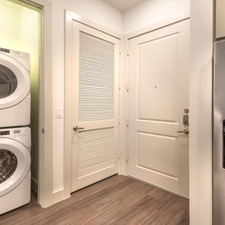 Front-Loading Washer and Dryer
