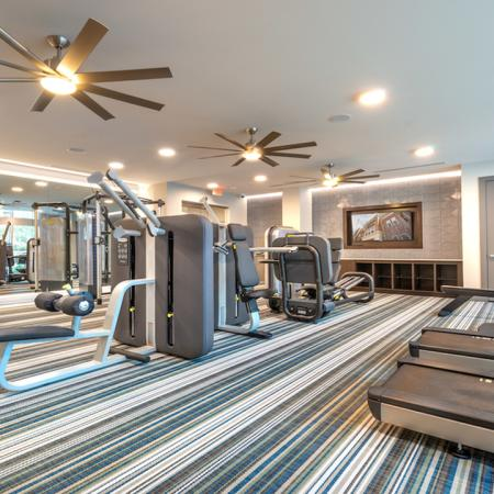 Club-Quality Fitness Center featuring machines and cardio