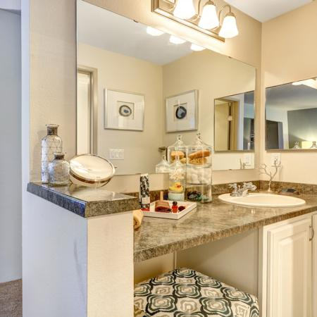 Walk-In Closets and Vanity Space