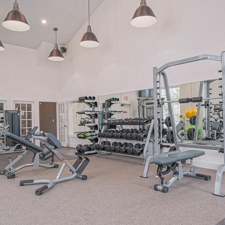 Gym | Alister Balcones | Austin, Texas | Apartment Homes | Cozy Living Spaces