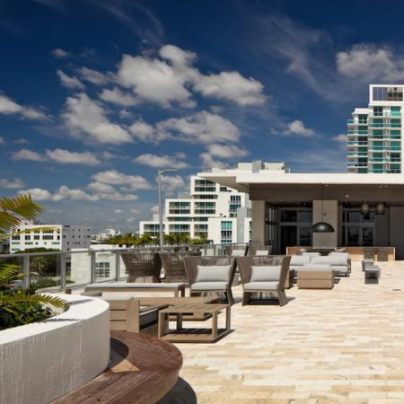 Rooftop Deck with Social Space