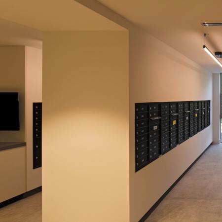 Mail Room | Modera Edgewater | Apartment Homes | Miami, Florida