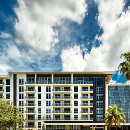 Now Open | Modera Edgewater | Exterior | Day Shot Apartment Homes | Miami, Florida