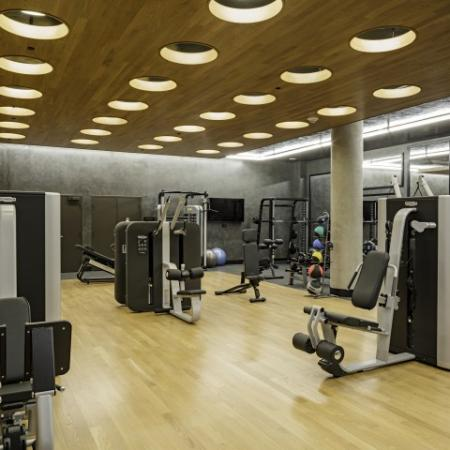 1,000 Square Foot Club Inspired Fitness Center