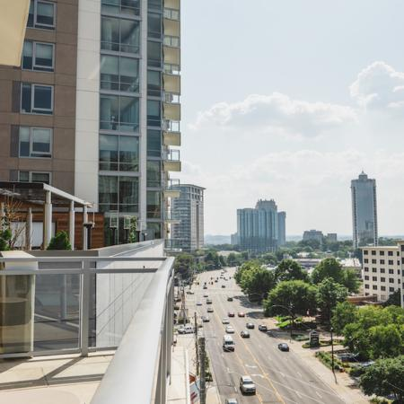 Views from Modera Buckhead in Atlanta