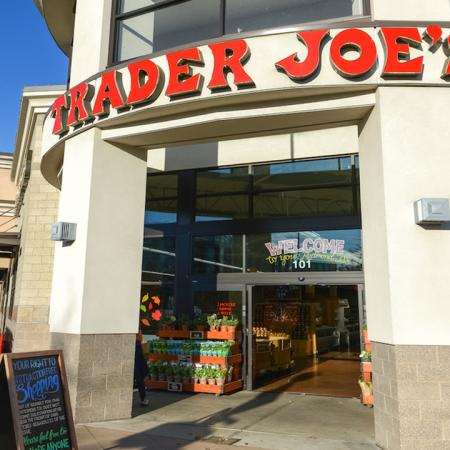 Exterior of local establishment Trader Joe's