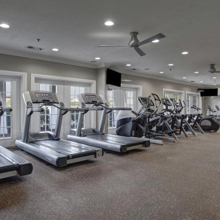 Expansive, newly redesigned fitness center