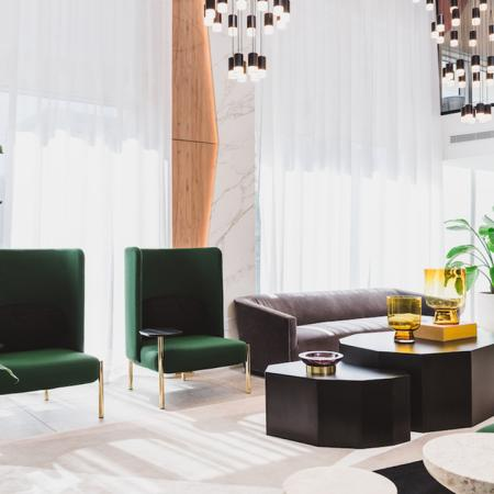 Resident Lounge with High End Seating