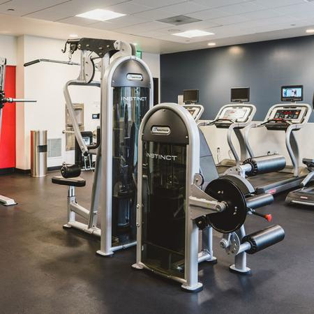24-hour fitness studio