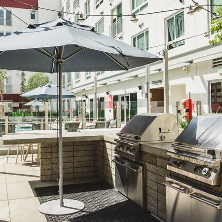 BBQs and outdoor kitchen for entertaining