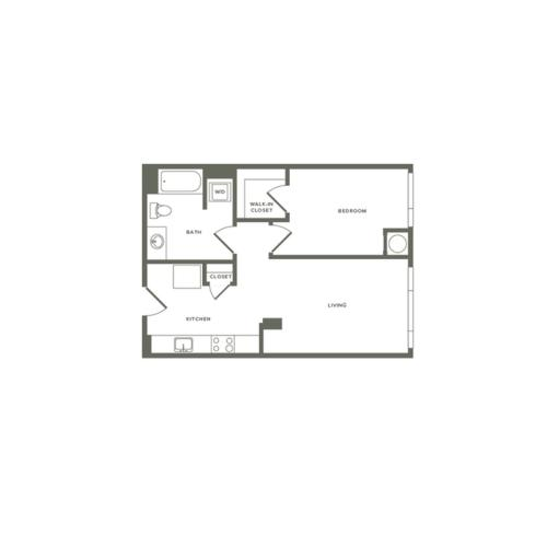 A08 659 sq. ft.