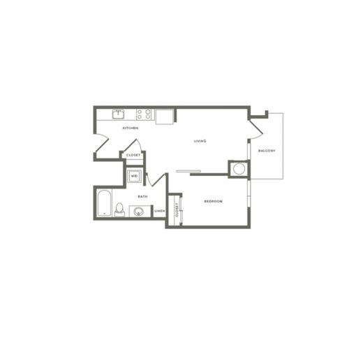 A09 605 sq. ft.