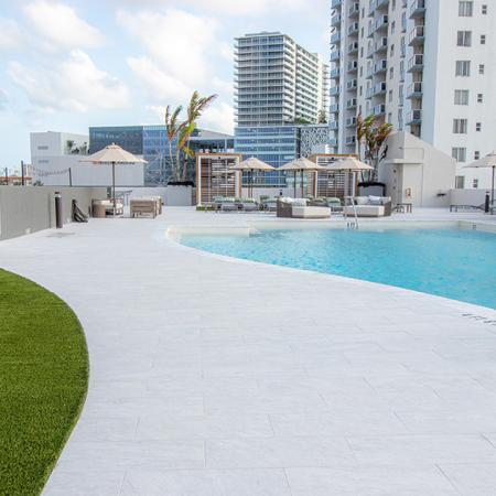 Roof top Pool and Sundeck