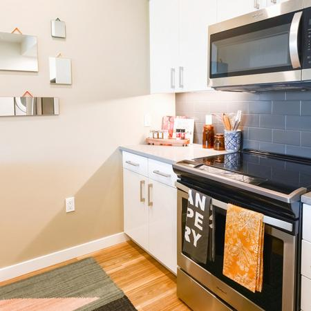 Stainless steel appliances and electric stoves