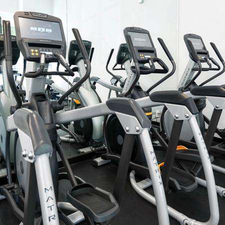 Elliptical training machines with TV