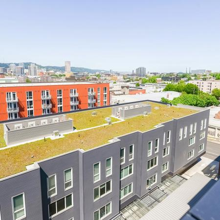View of Portland from Modera Buckman