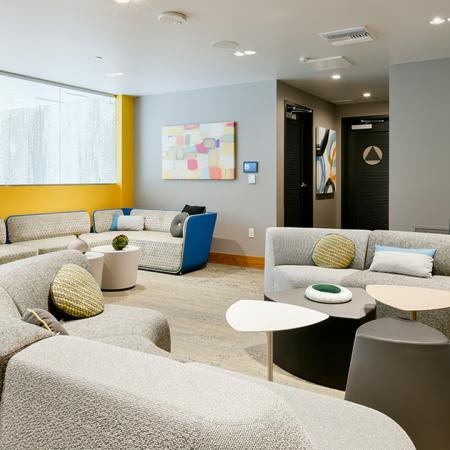 Resident lounge with complimentary WIFI