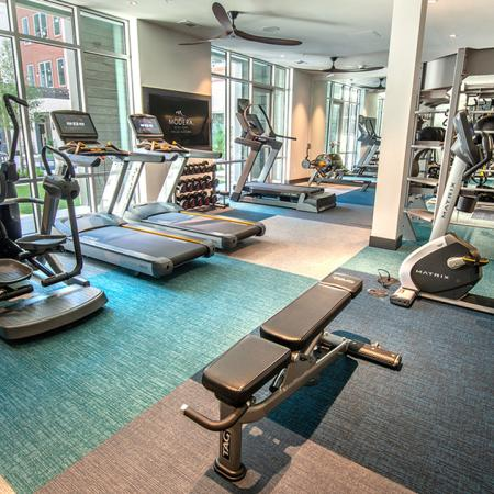 Cardio equipment and weight stations