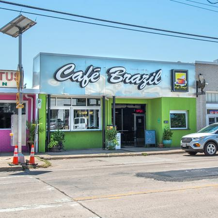 Exterior of Local Establishment Cafe Brazil