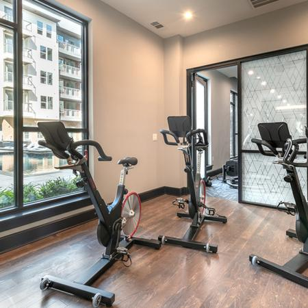 Yoga and Spin Studio with On-Demand Group Fitness