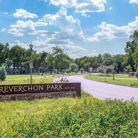 Exterior Signage for Reverchon Park