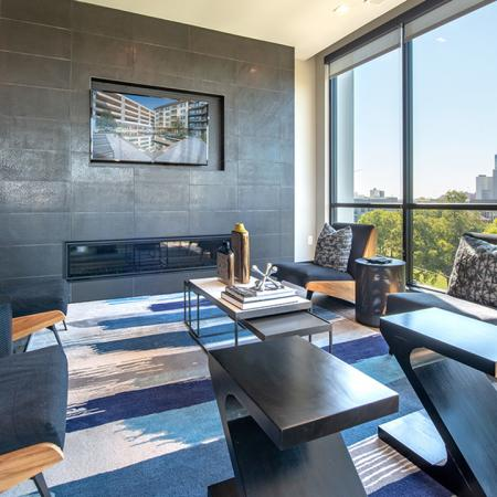 5th Floor Sky Lounge for Residents with Ample Seating for Work or Play