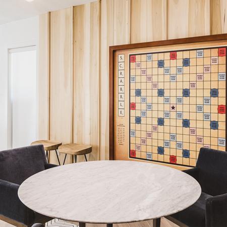 Large wall Scrabble board