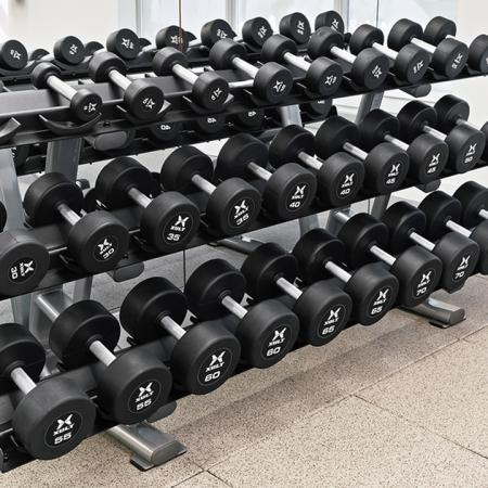 Free weight stations
