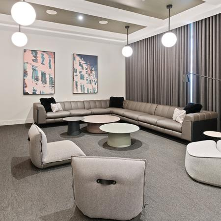 Lounge area with HDTV