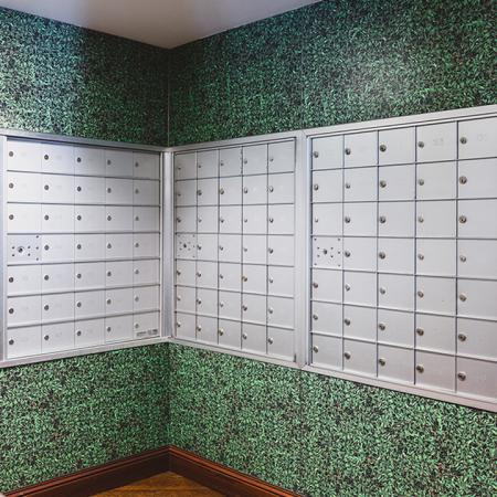 Mail location with lively wall paper
