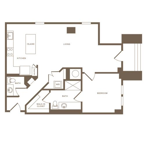 Modera Howell A15 floorplan