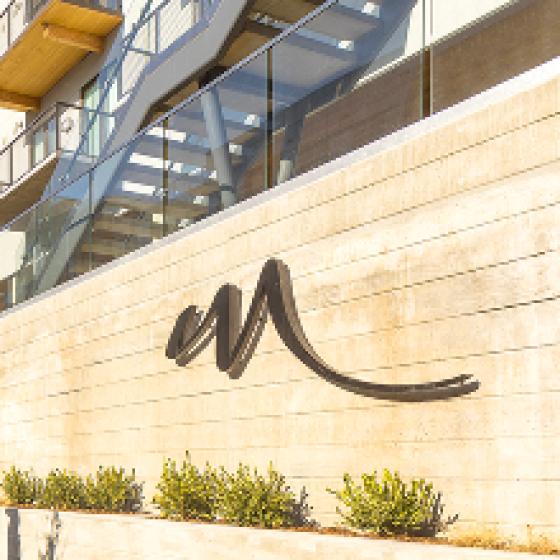 Modera LoHi exterior branding sign