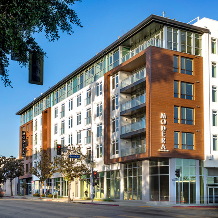 Modera Hollywood community with stunning architecture in Hollywood CA