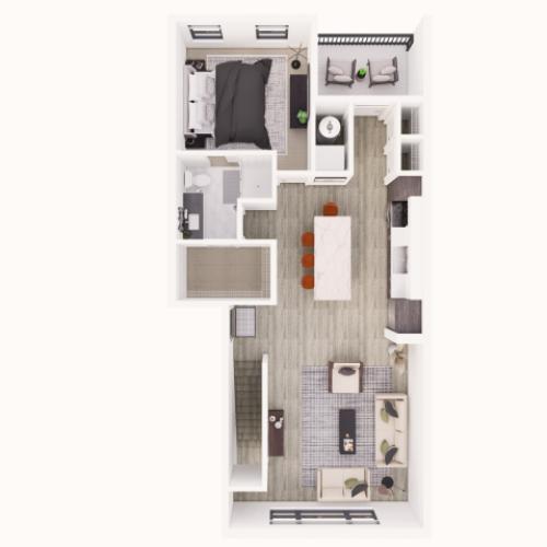 879 sq ft