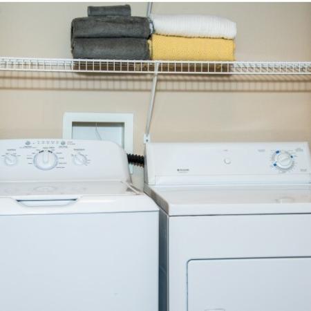 In Unit Washer  Dryer