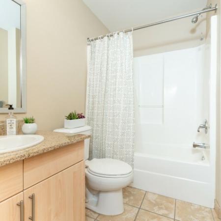 Bathroom with Tub Shower