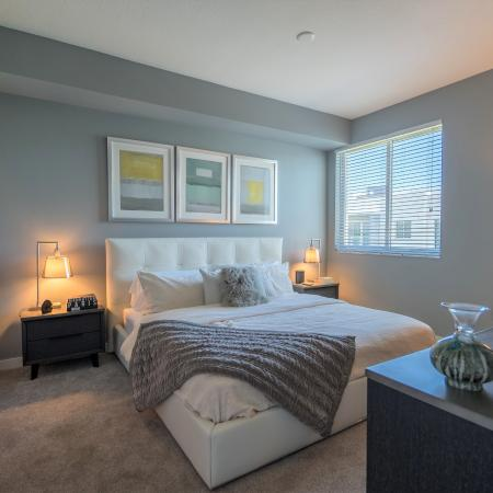 Spacious Master Bedroom | Boca Raton Florida Apartments | Allure Boca Raton