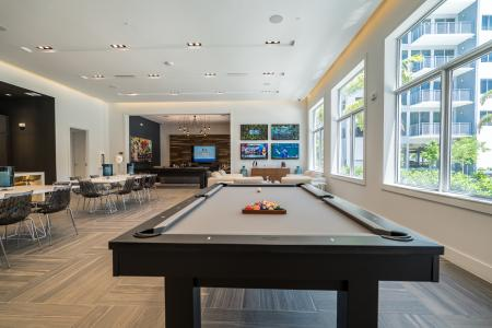 Community Game Room | Boca RAton Apartments | Allure Boca Raton