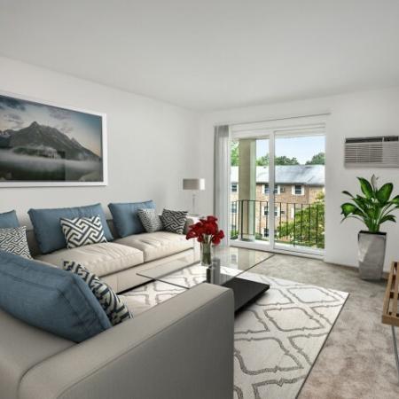 Elegant Living Room | Apartments Allentown PA | Lehigh Square