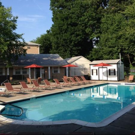 Swimming Pool | Allentown PA Apartments | Lehigh Square