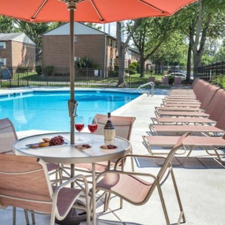 Sparkling Pool | Hi-Nella NJ Apartments | Fox Pointe