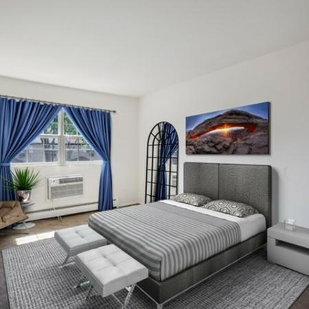 Spacious Bedroom | Apartments In Hi-Nella Nj | Fox Pointe