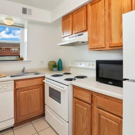 Elegant Kitchen | Newark Apartments | Liberty Pointe