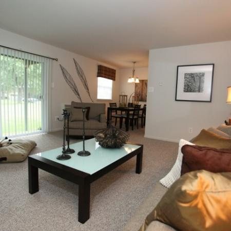 Elegant Living Room   Bethlehem Apartments   Valley Park