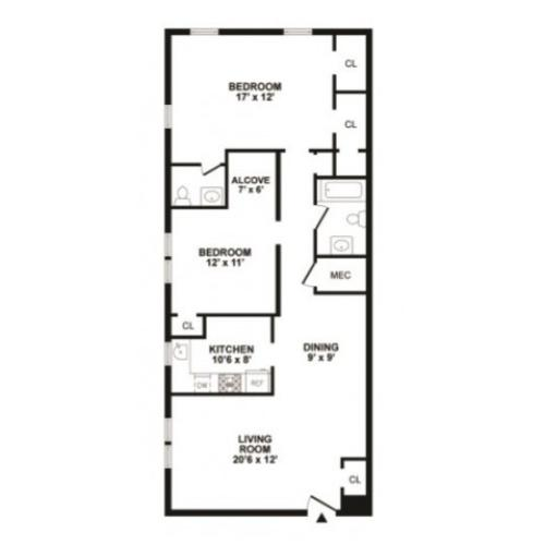 Floor Plan 5 | Hunters Crossing