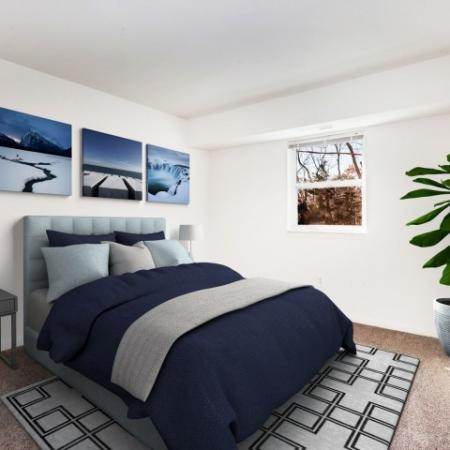 Spacious Bedroom | Pitman New Jersey Apartments | Holly Court
