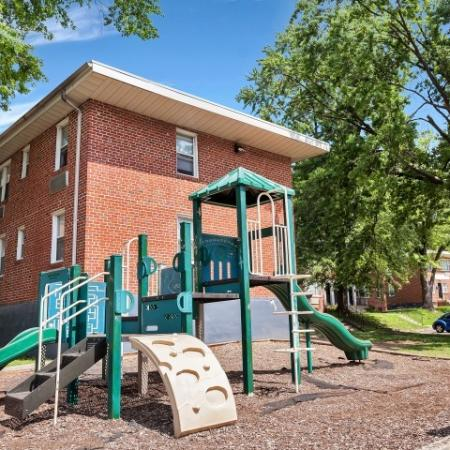 Community Children's Playground | Baltimore Maryland Apartments for Rent | Greens at Forest Park